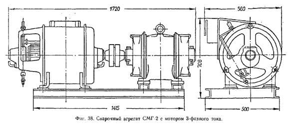 сварочные генераторы СМГ-2